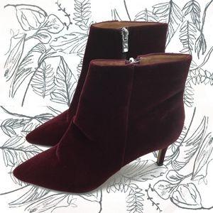 Halogen Velvet boots